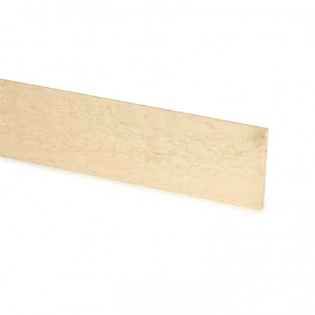 Tonewood fingerboard blanks and slotted fingerboards