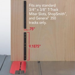 ZeroPlay miter bar system dimensions
